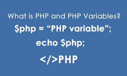 What is PHP and PHP Variables?