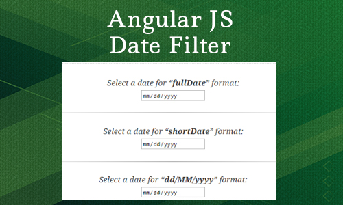 How to use angular js date filter?