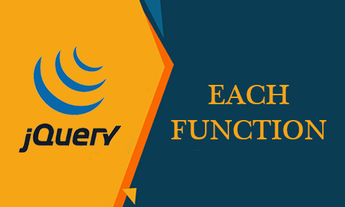 How to use each function in jquery?