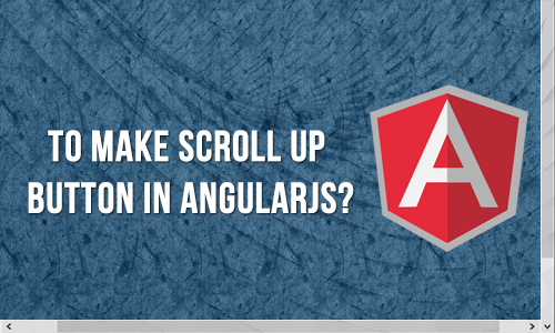 How to make scroll up button in angularjs?