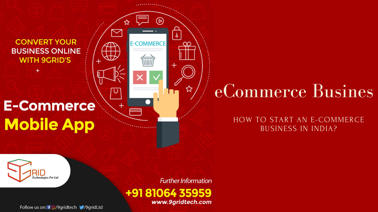 How to Start your own eCommerce business in India?